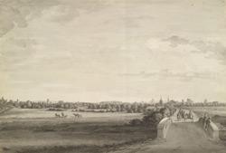West view of Oxford from the Abingdon Road